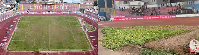 bóng đá Việt Nam, tin tức bóng đá,- V-League, lịch thi đấu vòng 3 V-League, BXH V-League, trực tiếp bóng đá, kết quả bóng đá, sân Lạch Tray, sân Hàng Đẫy