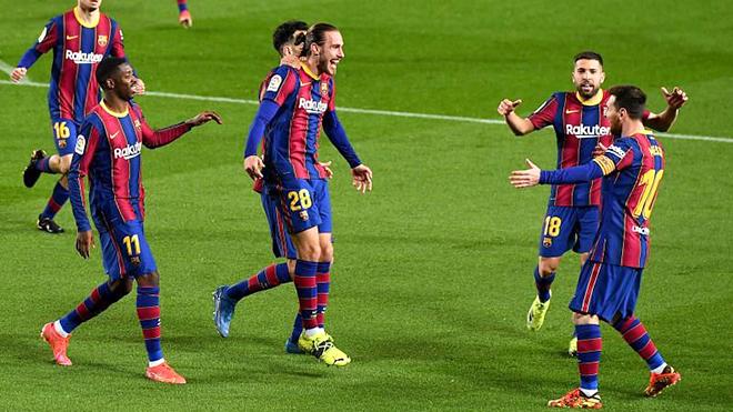 Barcelona: Tạo phép màu ở La Liga