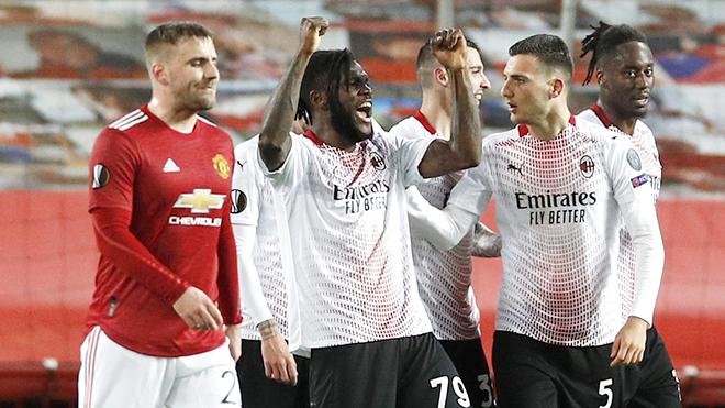 Trực tiếp bóng đá Milan vs MU: Milan không thể tử thủ trên sân nhà