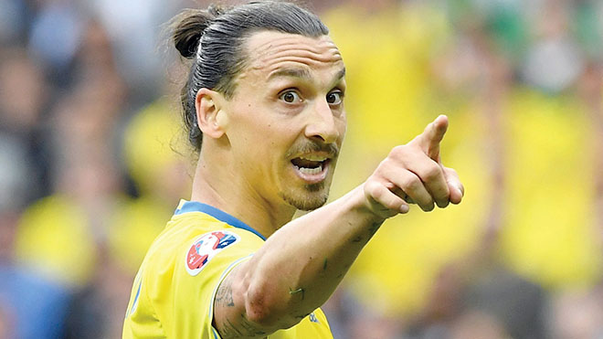 Chúa trở lại! Hay cú sốc mới của Zlatan Ibrahimovic