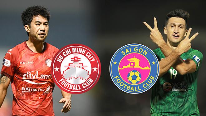 TPHCM vs Sài Gòn FC: Derby bằng… ngoại lực!
