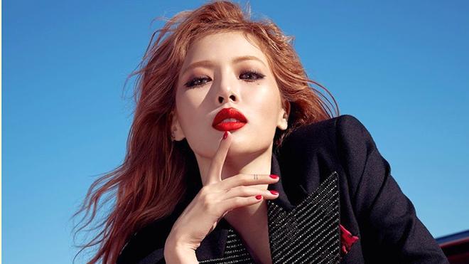 'Nữ hoàng gợi cảm' HyunA - mỹ nhân bất quy tắc của K-pop