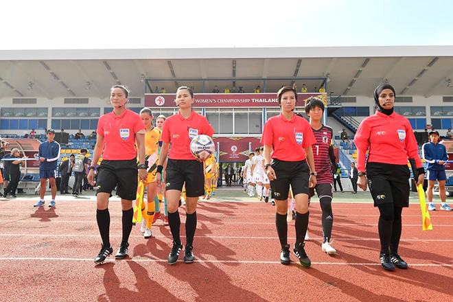 bóng đá Việt Nam, tin tức bóng đá, bong da, tin bong da, bóng đá nữ Việt Nam, trọng tài nữ, Ban trọng tài VFF, World Cup bóng đá nữ, kết quả bóng đá hôm nay