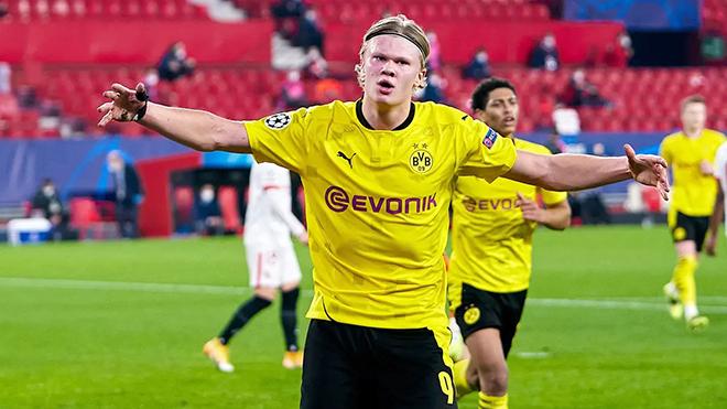 Trực tiếp Dortmund vs Sevilla (03h00, 10/3): Chờ đợi Haaland tỏa sáng một lần nữa
