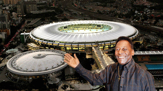 Thánh địa Maracana sẽ mang tên vua bóng đá Pele?