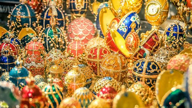 Triển lãm Fabergé tại Nga: Bị tố có 'ít nhất 20 món đồ giả'