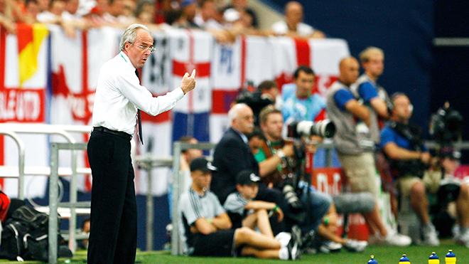 Khi Eriksson dẫn dắt tuyển Anh là một cú sốc lớn