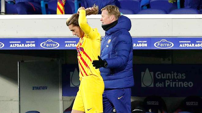 Vấn đề của Barca: 'Hoàng tử' Griezmann lại bị bỏ xó