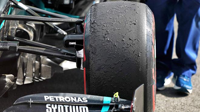 Đua Công thức 1: Câu chuyện về những chiếc lốp