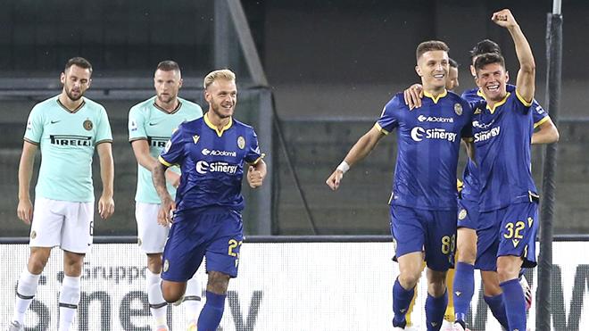 Trực tiếp Hellas Verona vs Inter Milan: Không dễ bắt nạt Verona đâu, Conte