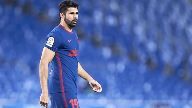 Trực tiếp Atletico Madrid vs Getafe (01h15 ngày 31/12):Quái vật Diego Costa đã rời đi