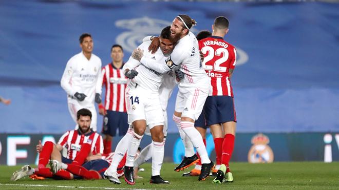 Real Madrid thắng trận derby: Những gã khốn tuyệt vời ở Madrid