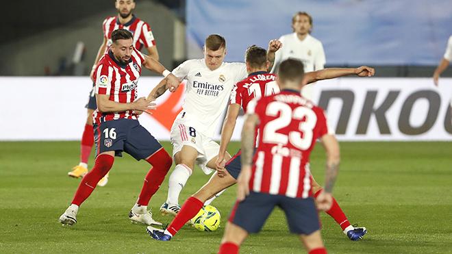 Real Madrid, Real Madrid vs Atletico, Kết quả La Liga, BXH La Liga, Toni Kroos, Luka Modric, Kết quả Real Madrid vs Atletico, Derby Madrid, Bóng đá Tây Ban Nha