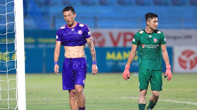 Sài Gòn FC bắt đầu hụt hơi