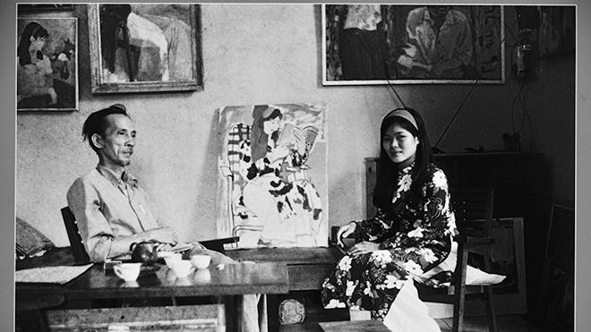 Họa sĩ Văn Dương Thành: Từ nàng thơ đến 'cầu nối' 3 thế hệ hội họa Bùi Xuân Phái