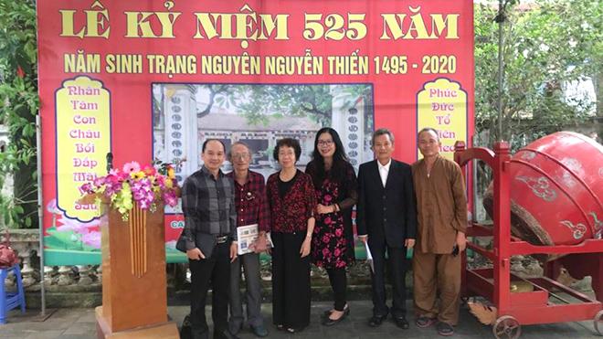 Đi tìm lai lịch dòng họ Nguyễn Du: Tổ quán của Đại thi hào Nguyễn Du ở Canh Hoạch