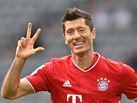 Trực tiếp Lokomotiv Moskva vs Bayern Munich: Lewandowski, cỗ máy ghi bàn và lập kỉ lục