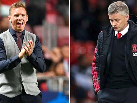 Trực tiếp MU vs Leipzig: Nagelsmann và Solskjaer, cuộc đối đầu thú vị trên sa bàn