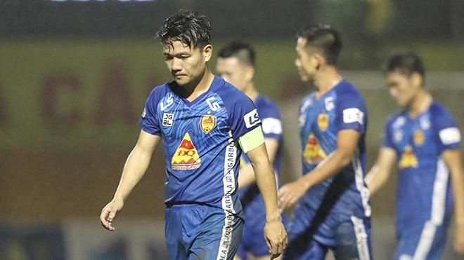 bóng đá Việt Nam, lịch thi đấu bóng đá hôm nay, BXH V League, trực tiếp bóng đá V League, Hải Phòng vs Quảng Nam, SLNA vs Nam Định, kết quả bóng đá hôm nay