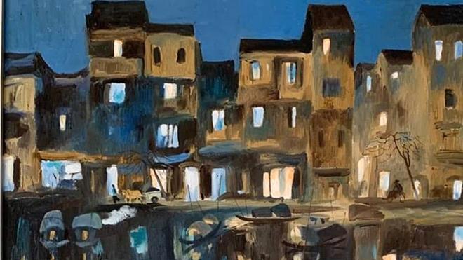 30 bức sơn dầu, thương nhớ họa sĩ Trịnh Thái