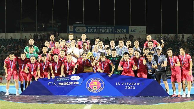 Sài Gòn FC, sau tấm HCĐ là... đập bỏ?