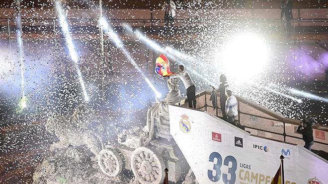 Trực tiếp bóng đá Real Madrid vs Villarreal: Bình minh trên quảng trường Cibeles. BĐTV trực tiếp