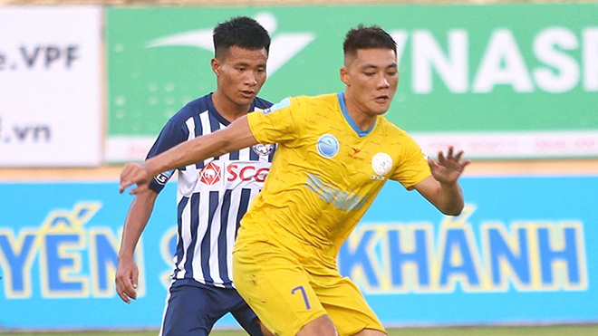 bóng đá Việt Nam, tin tức bóng đá, bong da, tin bong da, S.Khánh Hòa, V League, giải hạng nhất QG, lịch thi đấu vòng 12 V League, BXH V League
