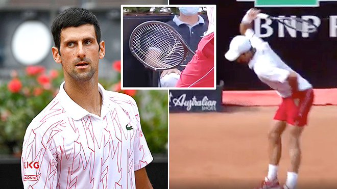 Chung kết Roma Masters 2020: Novak Djokovic và thứ quần vợt giận dữ