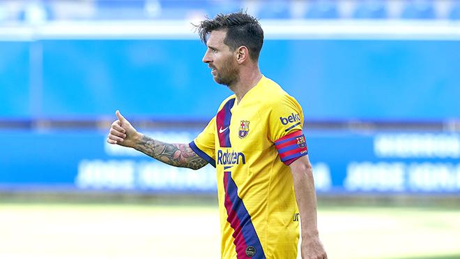 Barca thất bại, Messi vẫn là số 1