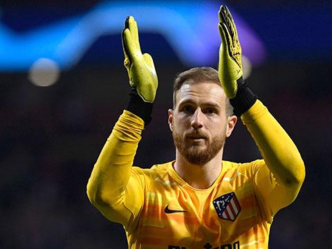 Atletico Madrid: Thật may vì Oblak vẫn đứng trong khung gỗ