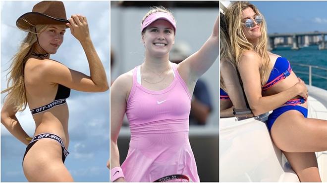 """Người đẹp quần vợt Genie Bouchard: """"Tôi sẽ hạn chế đăng ảnh bikini"""""""