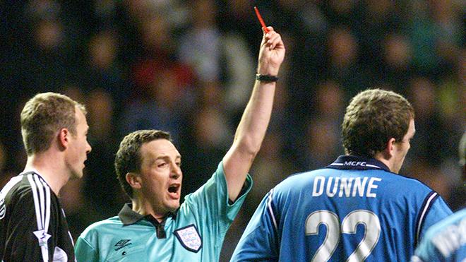Ngoại hạng Anh, Premier League, Lịch sử Ngoại hạng Anh qua những chiếc thẻ đỏ, bóng đá Anh, lịch thi đấu Ngoại hạng Anh, lịch thi đấu bóng đá Anh, MU,  Liverpool, Chelsea