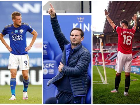 Cuộc đua Top 4 Ngoại hạng Anh: MU sẽ cạnh tranh với Leicester, Chelsea tới vòng cuối?