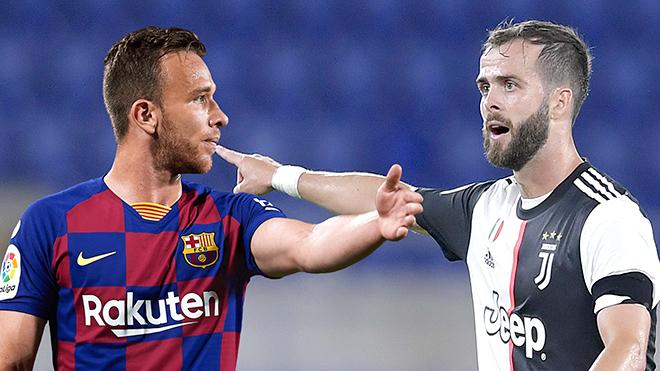 Chuyen nhuong, Barcelona, chuyển nhượng Barca, Juventus, chuyển nhượng Juve, Juve mua Arthur, Barca mua Pjanic, chuyển nhượng bóng đá hôm nay, tin tức bóng đá hôm nay