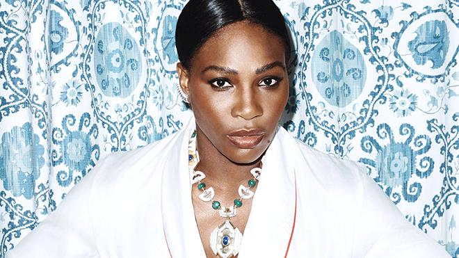 Serena Williams náo động Tuần lễ thời trang New York