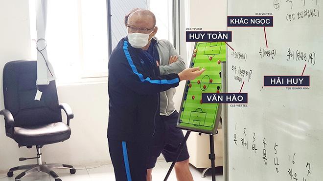 V-League trở lại, HLV Park Hang Seo mừng thầm