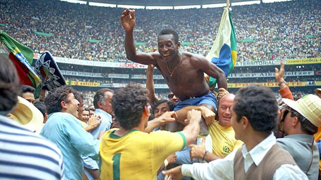 Brazil ở World Cup 1970: Những người mang trái bóng tới Mặt trăng