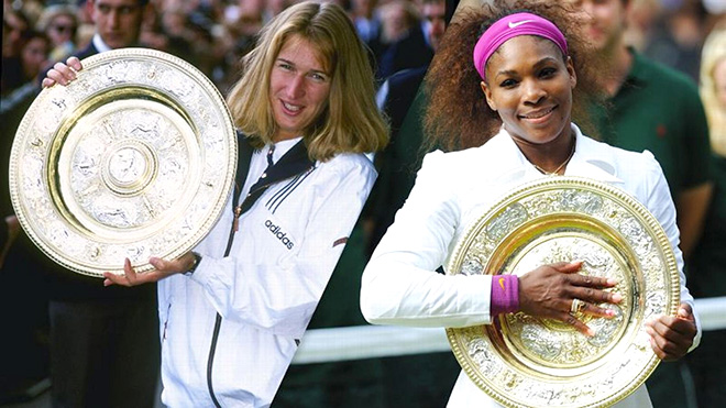 Tennis, quần vợt, tin tuc the thao, tin tuc, lich thi dau quan vot, Steffi Graf, Williams, Serena Williams, tin tennis, quan vot, bong da, bong da hom nay, tin bong da