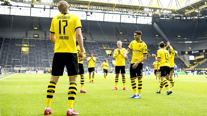 Bóng đá Đức trở lại: Một vòng đấu kì lạ của Bundesliga