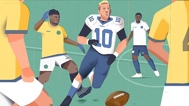Liệu Harry Kane có trở thành ngôi sao bóng bầu dục?