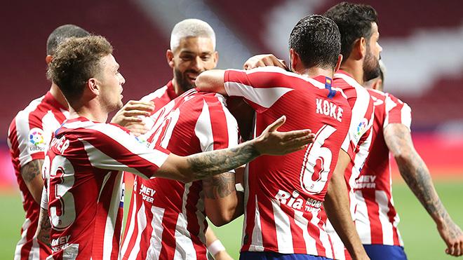 Atletico vào Top 4: Tuần lễ hoàn hảo với Simeone