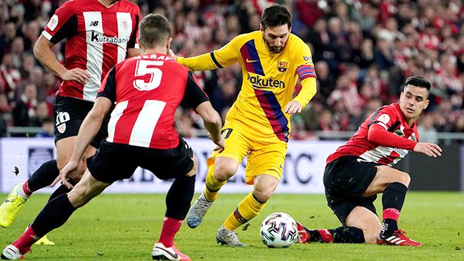 Truc tiep bong da, Barcelona vs Bilbao, BĐTV, Barca đang trả giá vì lệ thuộc Messi, Barcelona đấu với Bilbao, lịch thi đấu bóng đá, lịch thi đấu La Liga, BXH La Liga