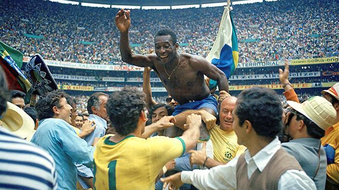 Bong da, Tin tuc bong da, World Cup 1970 khởi đầu cho một chương mới của bóng đá, đội tuyển Brazil, Brazil vô địch world Cup 1970, Pele, Vua bóng đá Pele, World Cup 1970