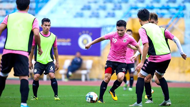 Hà Nội FC giao hữu với Viettel