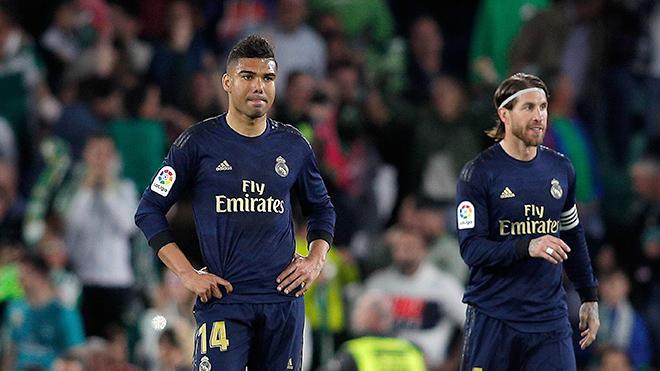 Real Madrid thua sốc Betis: Nhà vô địch trên lý thuyết