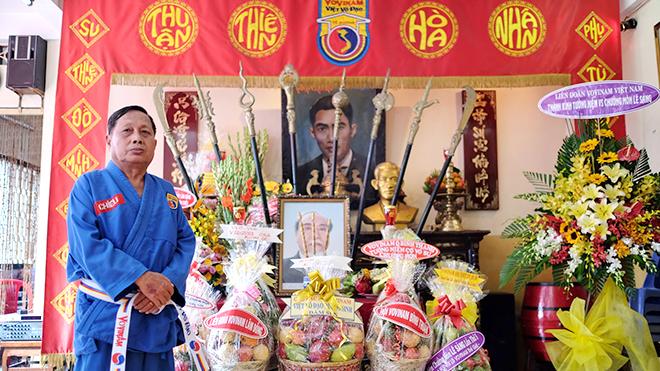 Võ sư Nguyễn Văn Chiếu và giấc mơ còn dang dở