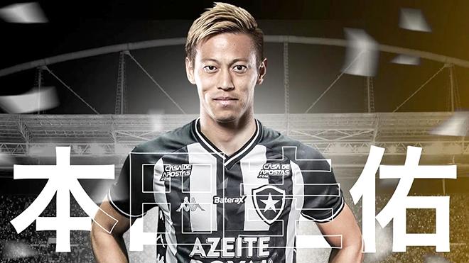 Keisuke Honda gia nhập Botafogo với điều khoản kỳ lạ