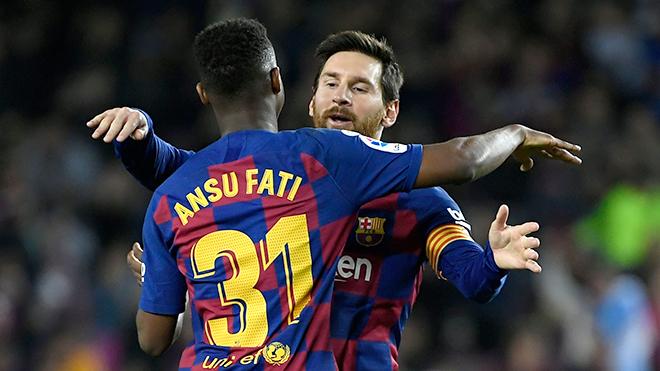 Barcelona: Yêu Ansu Fati để quên Suarez