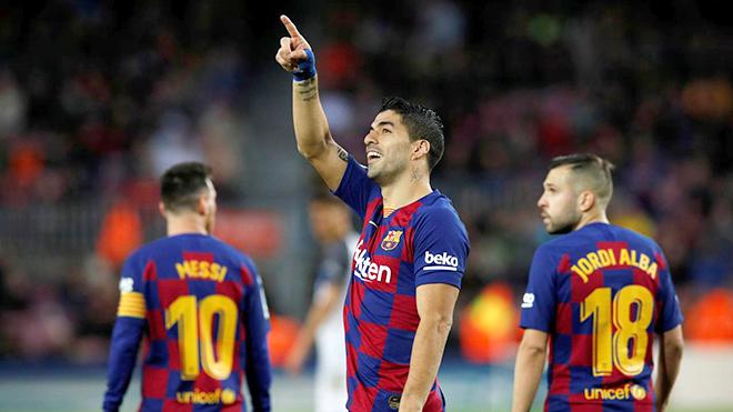 Barcelona: Suarez, 32 tuổi vẫn săn bàn tốt