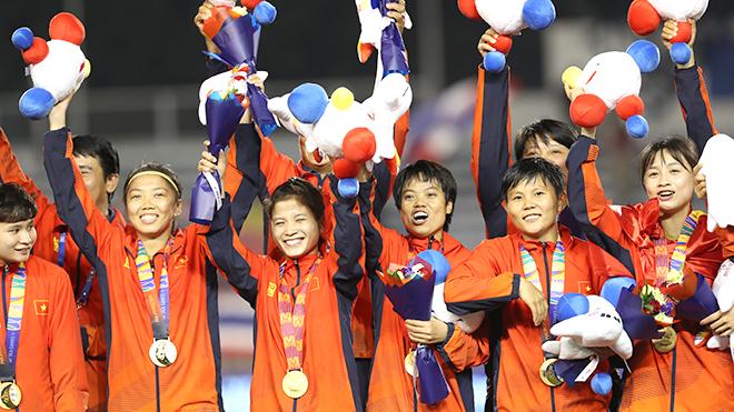 Tuyển nữ Việt Nam: Sau SEA Games là giấc mơ Olympic